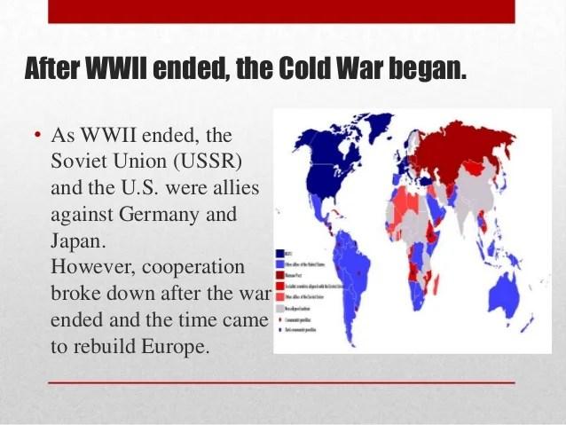When Start War Did Cold