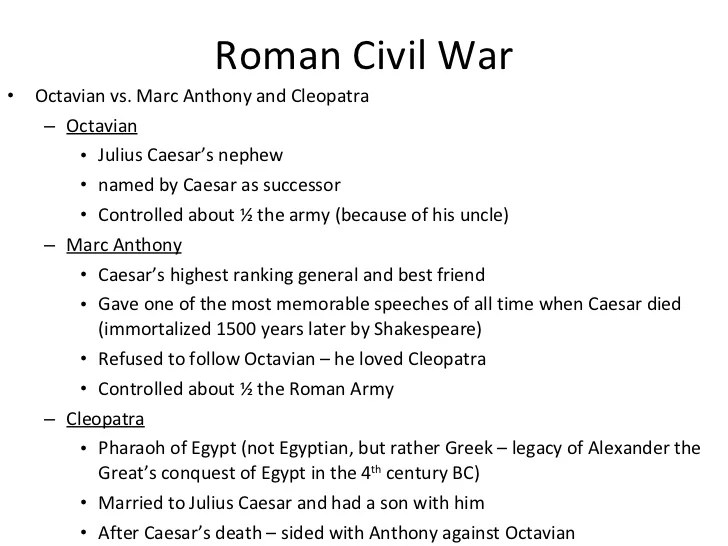 Marc Anthony Roman General