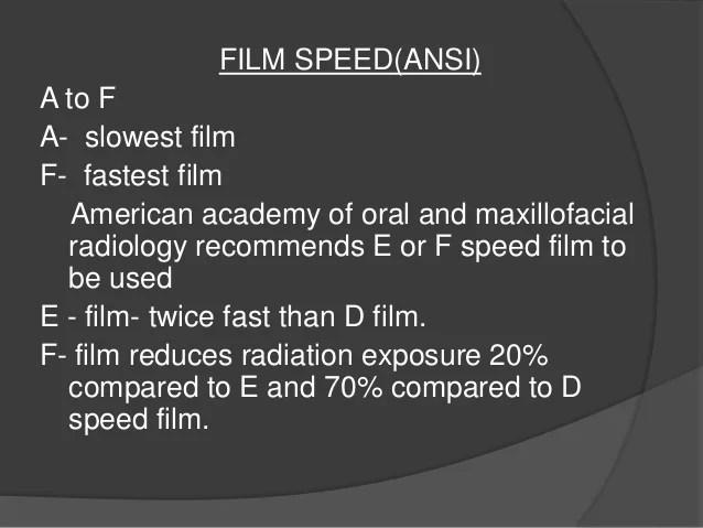 Film Characteristic Curve