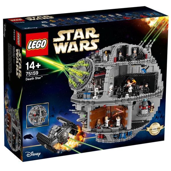 LEGO 75159 Star Wars Death Star Iconic Construction Set ...