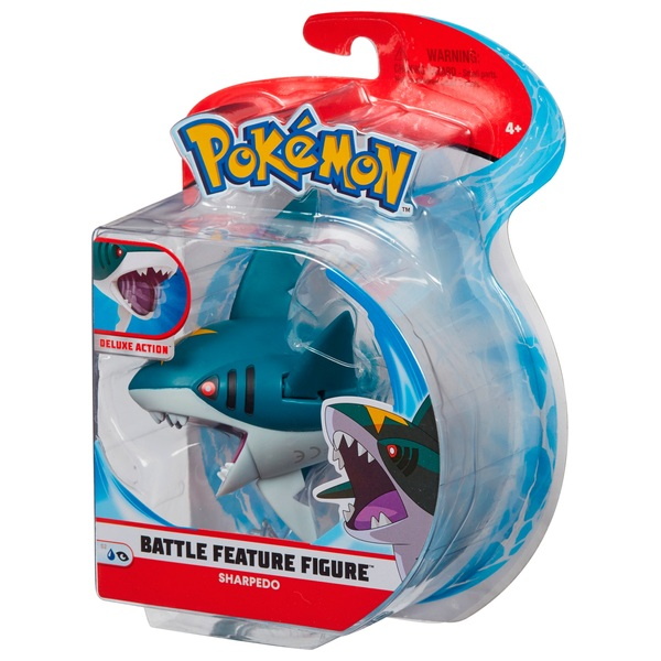 Pókemon Sharpedo 11cm Action Figure - Pokemon Toys UK