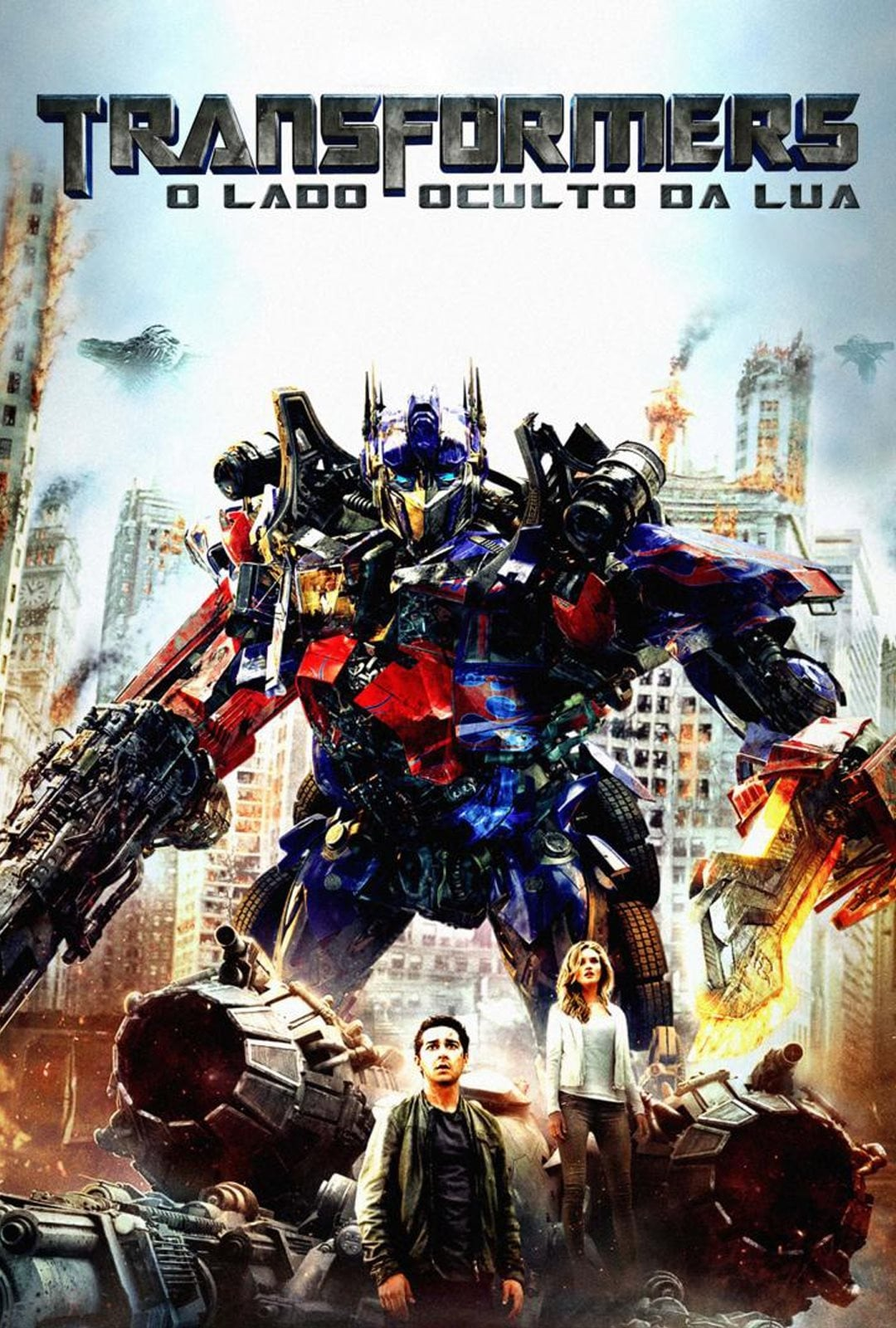 Transformers: Dark of the Moon (2011) - Posters — The ...