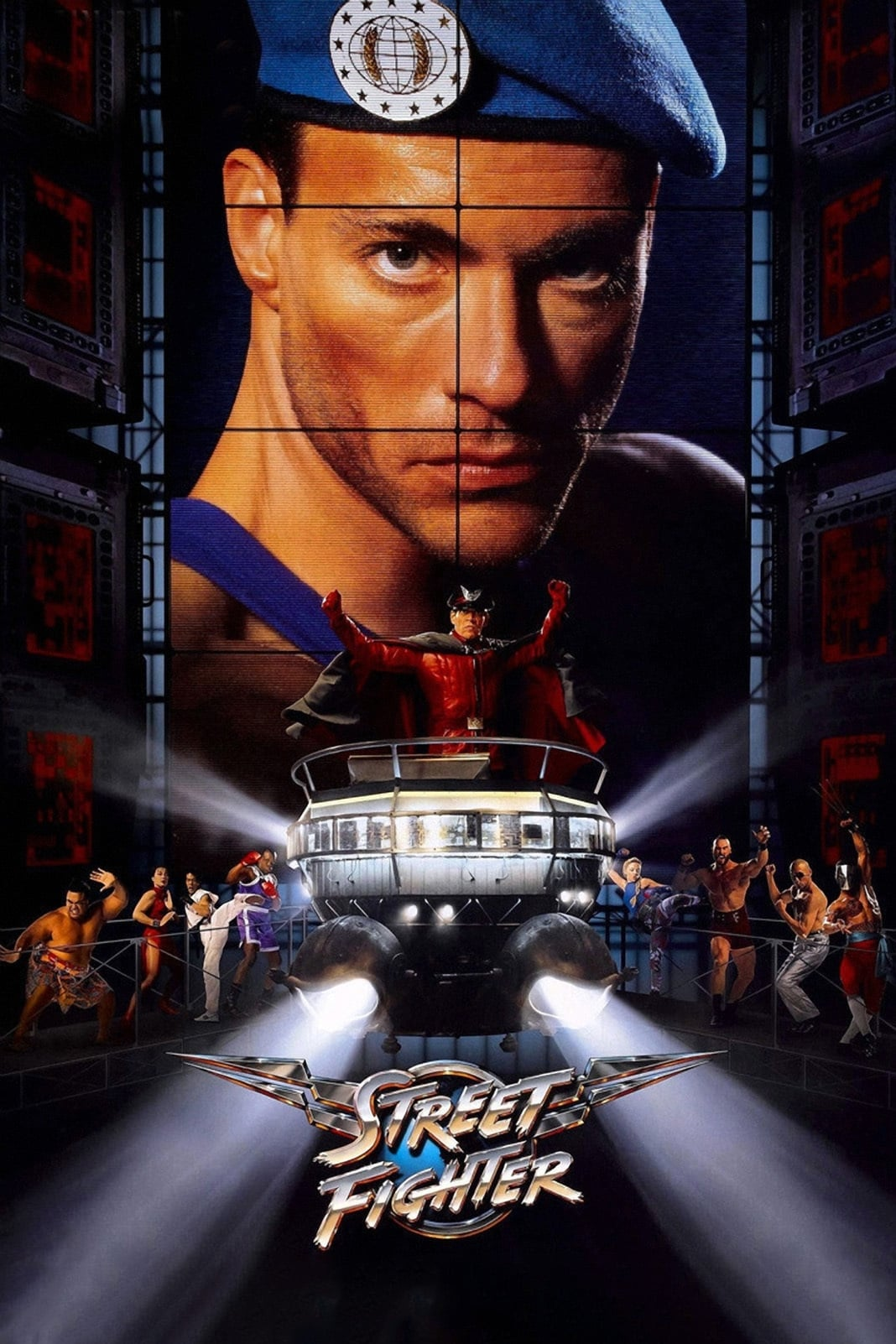 Street Fighter (1994) - Posters — The Movie Database (TMDb)