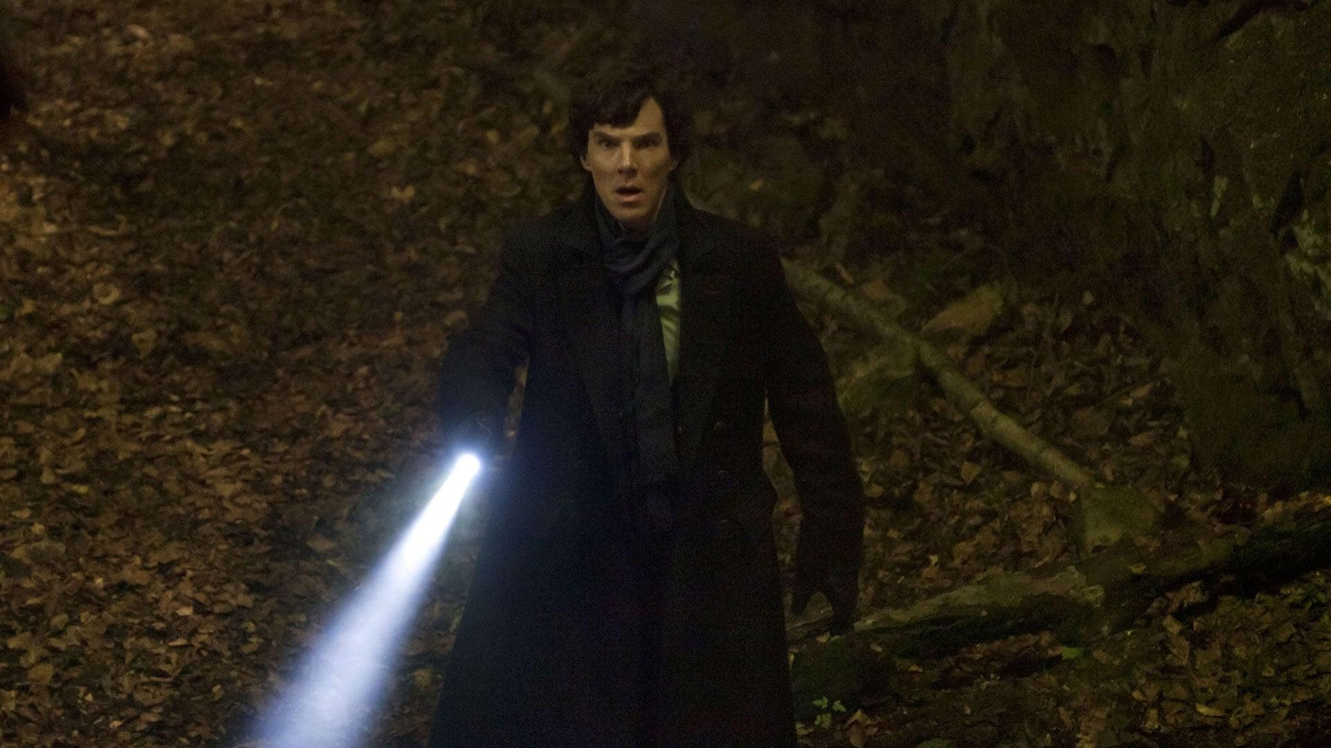 Sherlock Stills Fall
