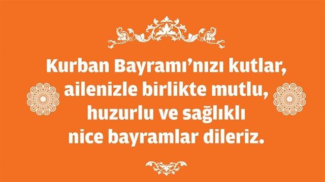Kurban Bayram Mesajlari