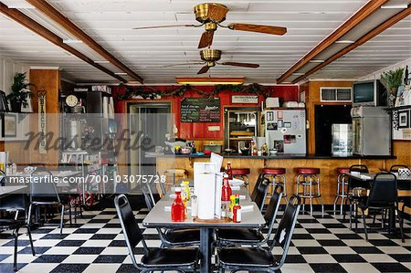 Interior of Whistle Stop Cafe  Decatur  Texas  USA   Stock Photo     Interior of Whistle Stop Cafe  Decatur  Texas  USA   Stock Photo
