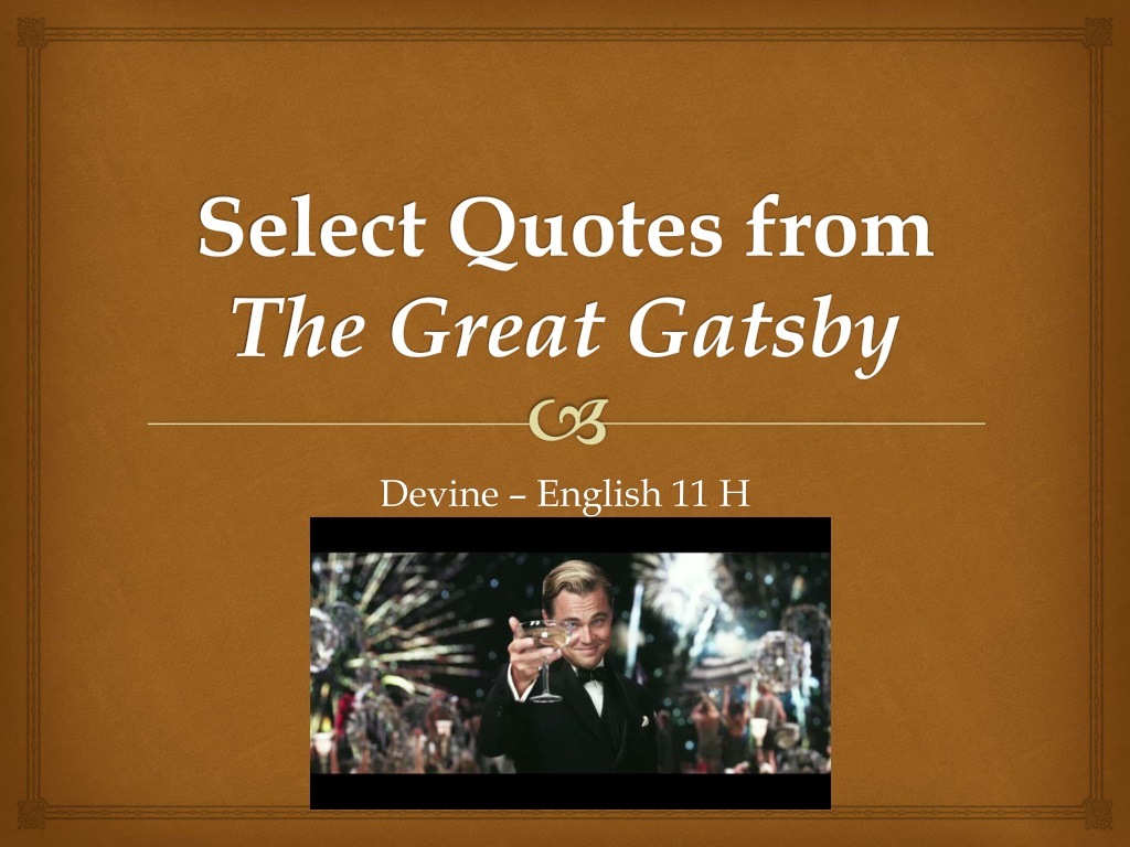 great gatsby quotes - HD 1024×768