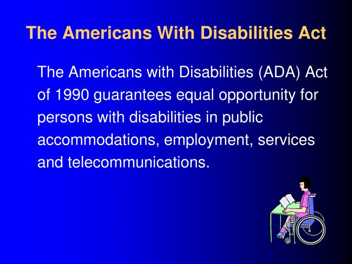 Olmstead Act Individuals Disabilities