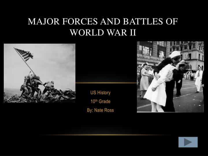 major battles of wwii - 720×540