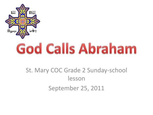 abraham and his guests sunday school # 85