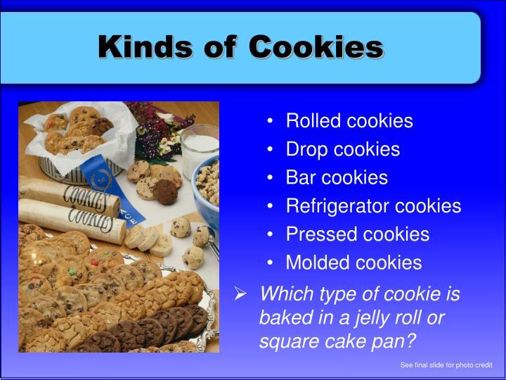 Types Unshortened Cakes