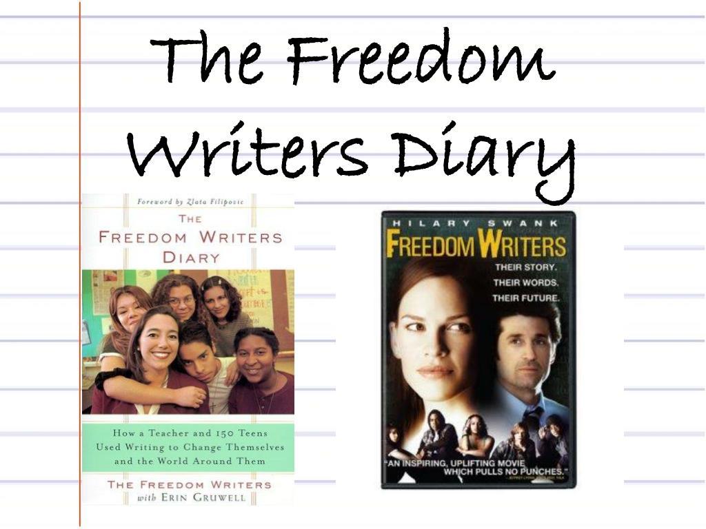 freedom writers diary - 720×540