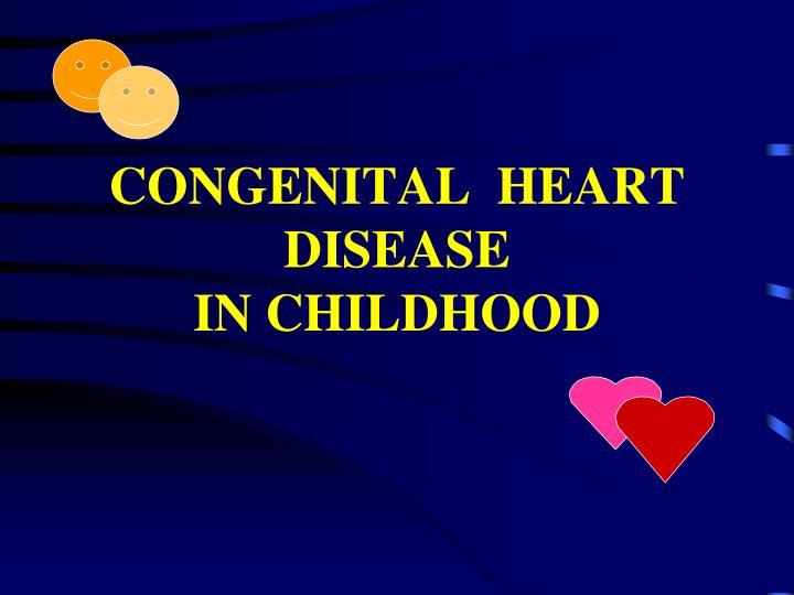 congenital heart disease in children - 720×540