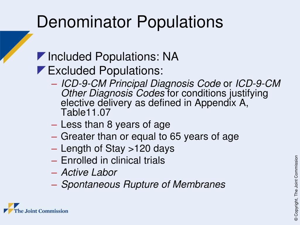 Core Perinatal Order Sets Examples Measure