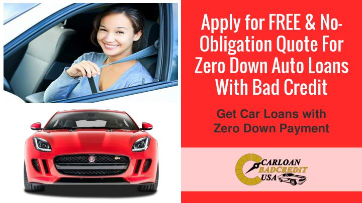 Bad Credit Auto Refinance