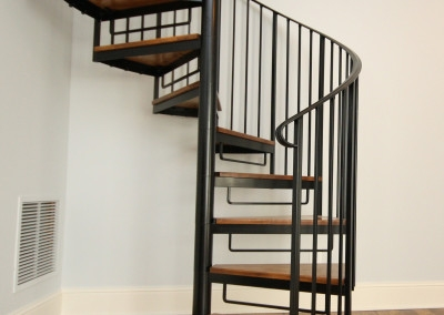 Spiral Stairs Portfolio Image Design Stairs   Changing Spiral Stairs To Normal Stairs   House   Space Saving   Staircase Design   Handrail   Building Regulations