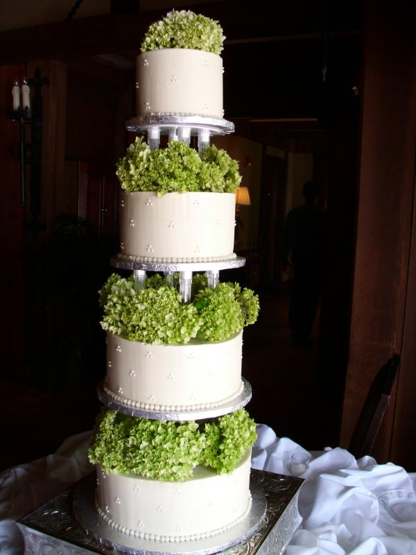 Four Tier Buttercream Wedding Cake