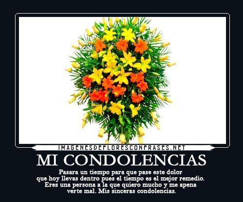 Pesame Cristianas Condolencias