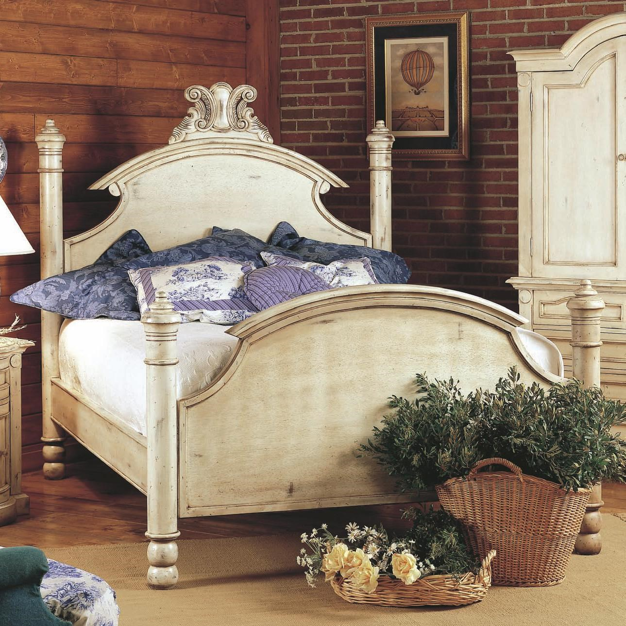 Old Biscayne Designs Custom Design Solid Wood Beds Ansley Carved     Old Biscayne Designs Custom Design Solid Wood BedsAnsley Wood Bed