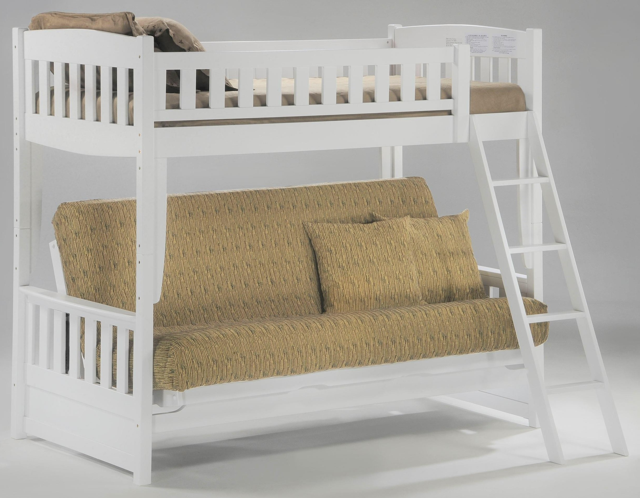Pacific Manufacturing Cinnamon Twin Over Futon Bunkbed Homeworld Pacific Manufacturing Cinnamon Twin Over Futon Bunkbed Homeworld Furniture Bunk Beds