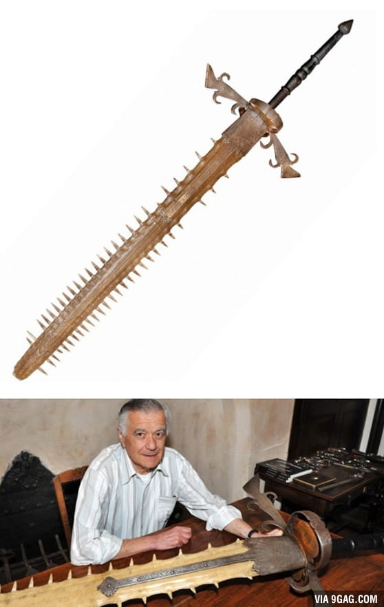 Two Handed Sword That Belonged To The Bavarian Prince