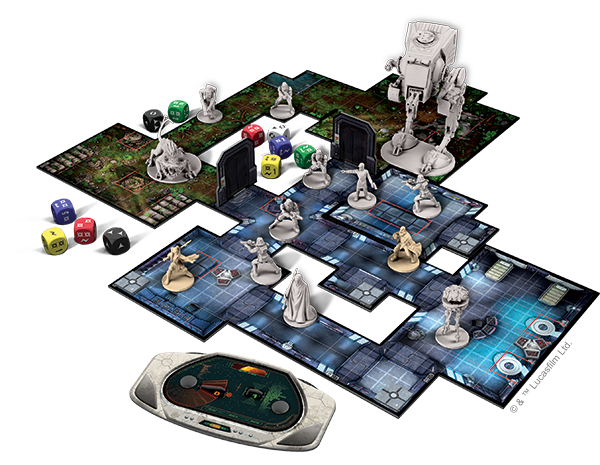 Star Wars  Imperial Assault Imperial Assault offers a different game experience in the skirmish game   In skirmish missions  you and a friend compete in head to head  tactical  combat