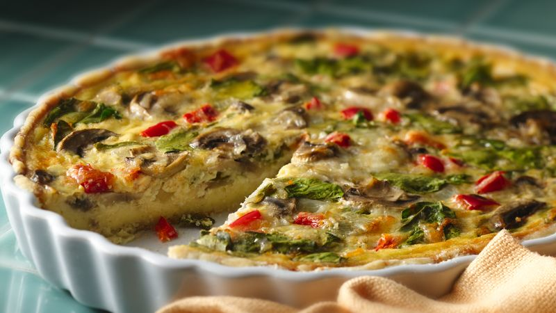 Bisquick Impossible Spinach Pie