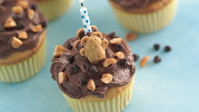Teddy Bear Cupcakes Recipe From Betty Crocker