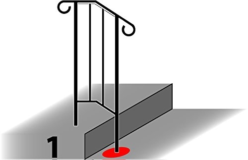 Iron X Handrail Picket 1 Railing Rail Fits 1 Or 2 Steps Induced Info | Iron X Handrail Picket
