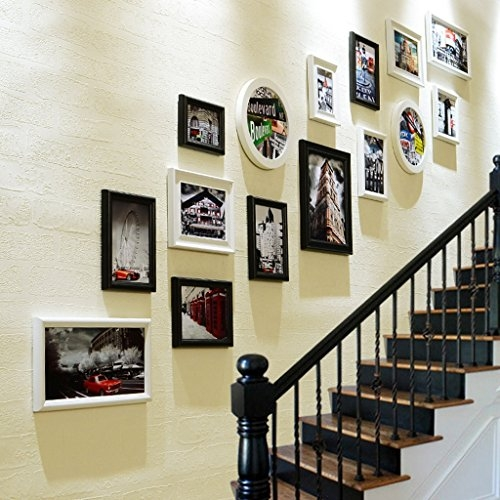 19 Staircase Wall Art Ideas | Interior Design For Staircase Wall | Side Wall | Cladding | Outside | 2Nd Floor | Under Stair