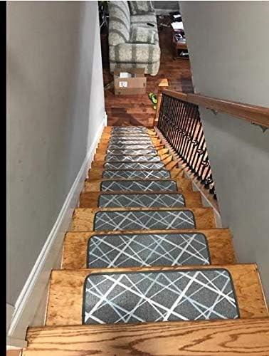 Amazon Com Seloom Dog Assist Gray Stair Treads Carpet Non Slip   Soloom Carpet Stair Treads   Blended Jacquard   Amazon   Beige   Mat   Flooring