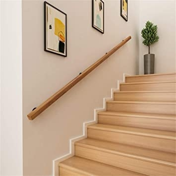 300Cm Wooden Handrails Easy To Install Complete Set Of Tools | Outdoor Handrails For Elderly | Mobility | Old Person | Deck | Ireland | Wrought Iron