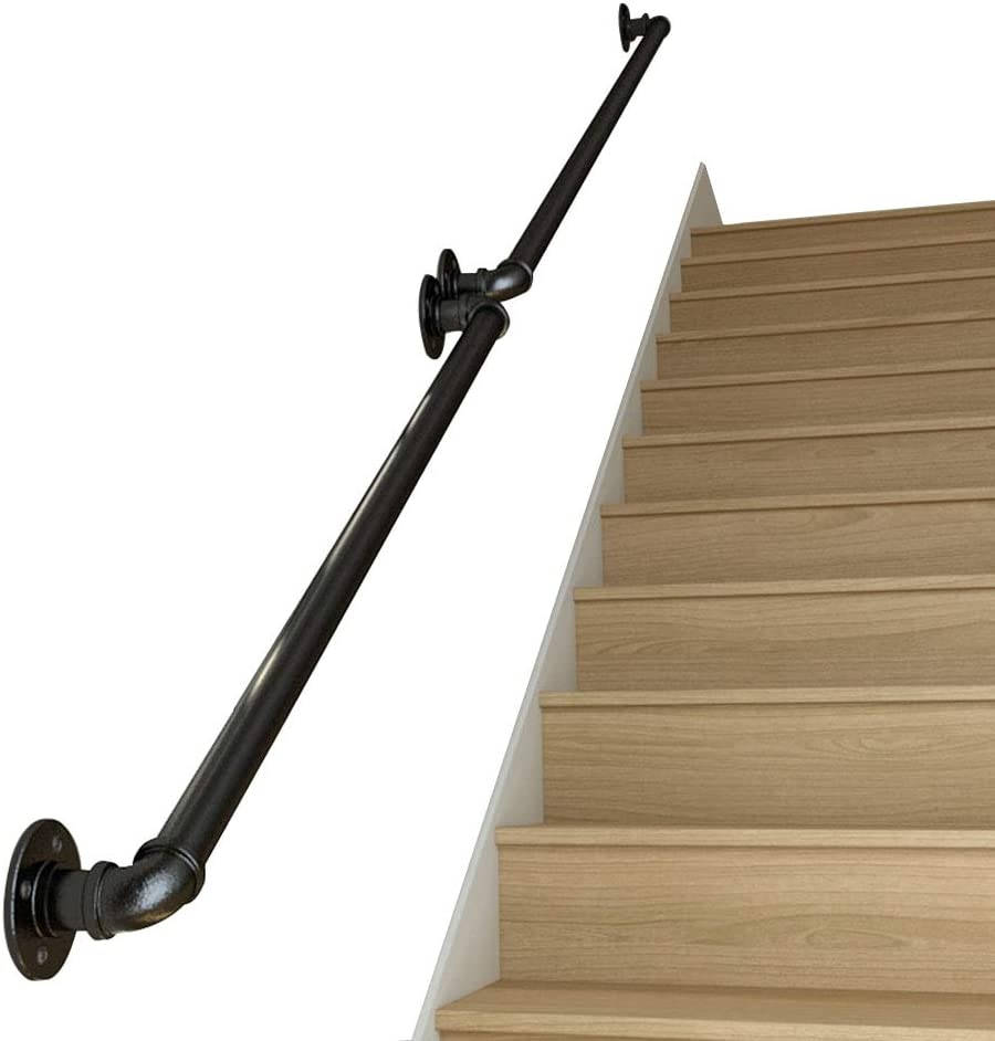 Amazon Com Staircase Decking Railings Handrail Window Baluster | Wrought Iron Balustrades And Handrails | Metal | Wrought Ironwork | Design | Mild Steel | Cast Iron