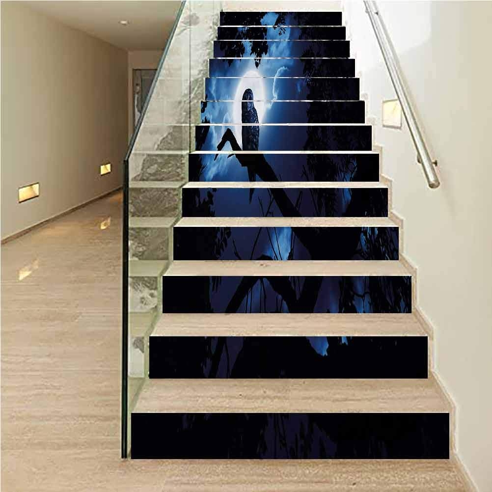 Amazon Com Stair Riser Refurbished Stair Treads Decals Night   Amazon Outdoor Stair Treads   Non Slip   Self Adhesive   Mat   Treads Carpet   Indoor Outdoor
