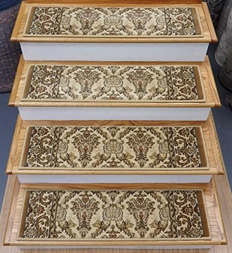 178447 Rug Depot Traditional Oriental Carpet Stair Treads 33   Oriental Carpet Stair Treads   Kings Court   Stair Runner   Carpet Runners   Rug Depot   Flooring