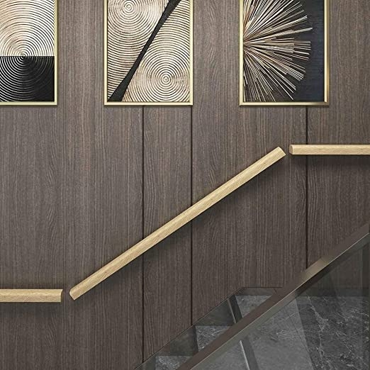 Amazon Com Stair Handrail Solid Wood Stair Handrail Exterior | Modern Outdoor Stair Railing | Front Door | Outer | Cool | House | Craftsman Style