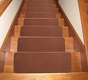 Seloom Washable Non Slip Stair Treads Carpet With Skid Resistant   Washable Non Slip Stair Treads   Carpet Stair   Skid Resistant   Rubber Backing   Nova Morrocan Washable   Removable Washable