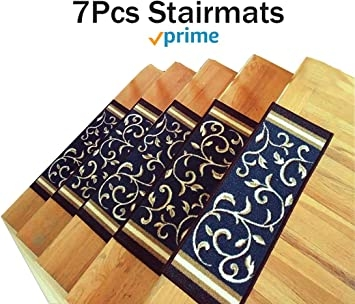 Amazon Com Stair Treads Carpet Non Slip – Stair Runners For | Amazon Outdoor Stair Treads | Self Adhesive | Non Skid | Rubber Backing | Rubber Stair | Carpet Stair