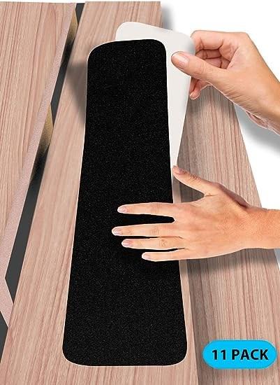 6 In X 30 In Stair Treads Non Slip Outdoor Tape – 11 Pack   Amazon Outdoor Stair Treads   Non Slip   Self Adhesive   Mat   Treads Carpet   Indoor Outdoor