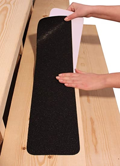 """6""""X30"""" Stair Treads Non Slip Outdoor Tape – 10 Pack Black Anti 