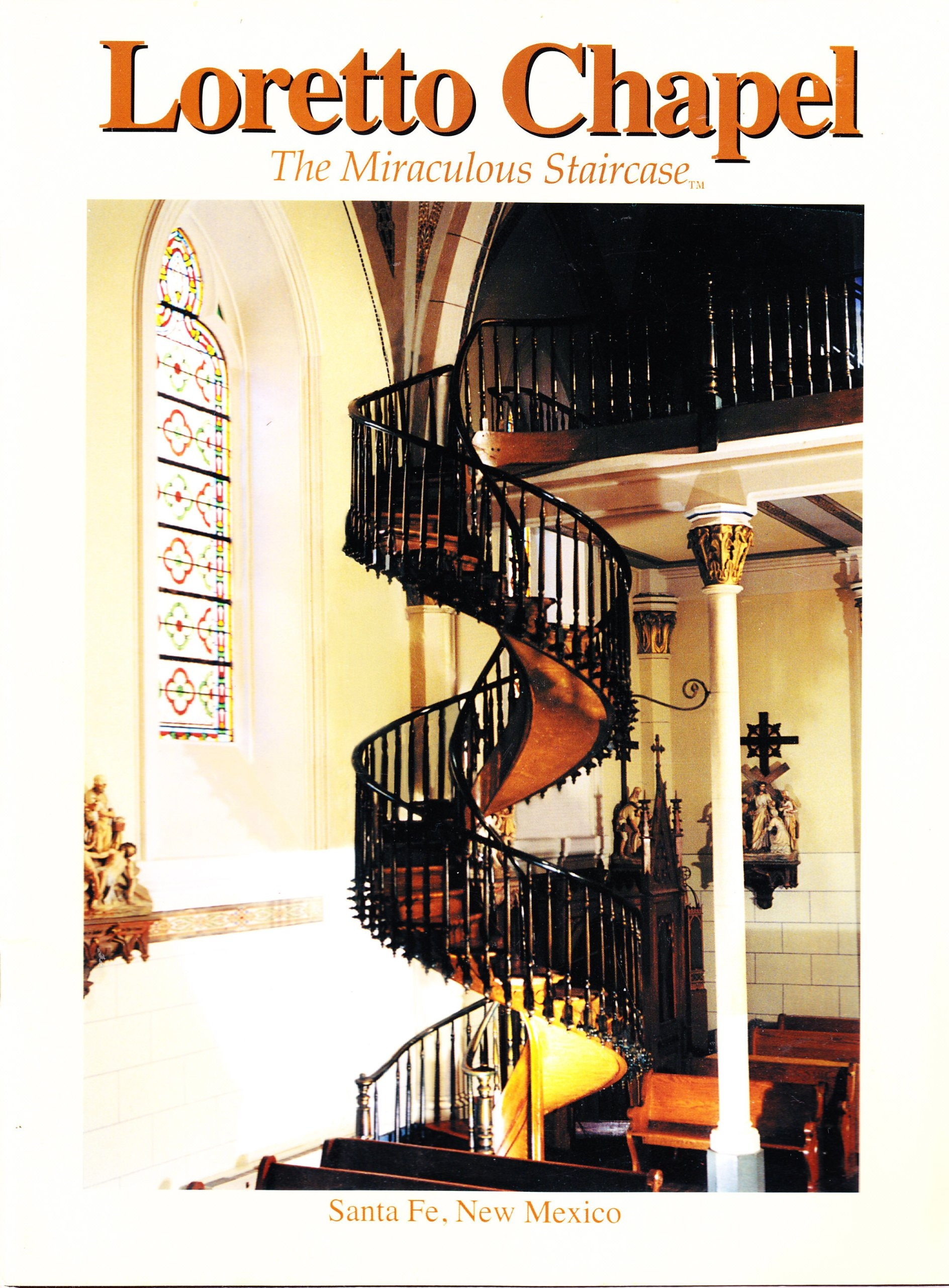 Loretto Chapel The Miraculous Staircase Bill Brokaw   The Staircase Of Loretto Chapel   Spiral   Explained   Ancient   Free Standing   Sparrow