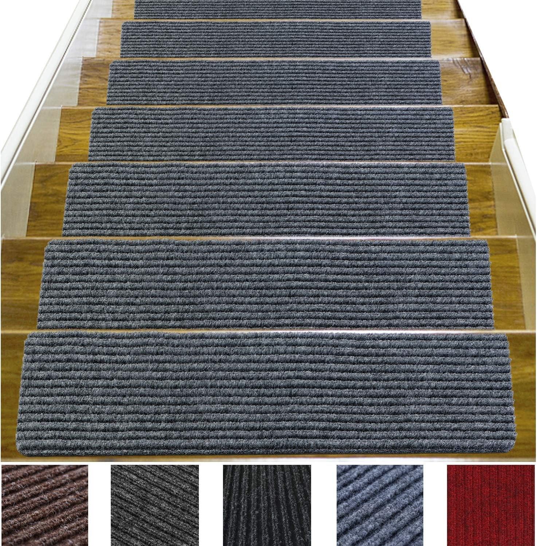 14 Pack 8 X 30 Non Slip Stair Treads Carpet Indoor Anti Slip   Cheap Carpet Stair Treads   Carpet Runners   Wall Carpet   Wool Carpet   Rugs   Stair Runner