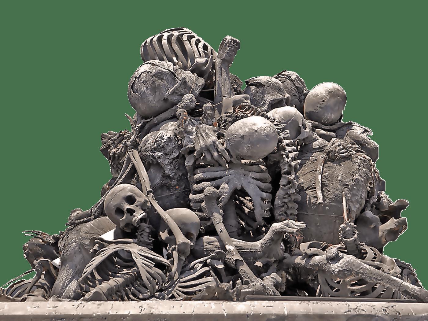 pile of bones - HD1400×1050
