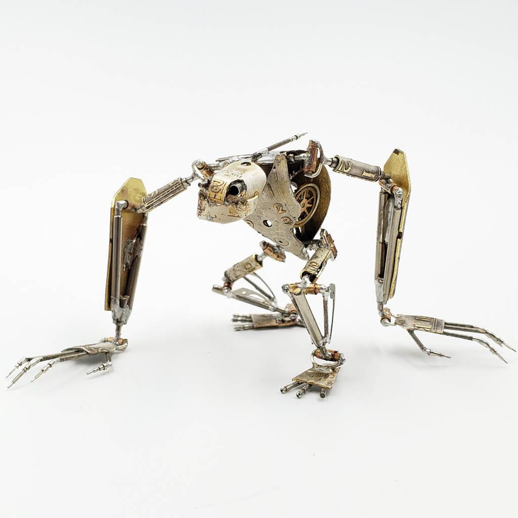 Articulated Watch Parts Creature 'Eight' by ...