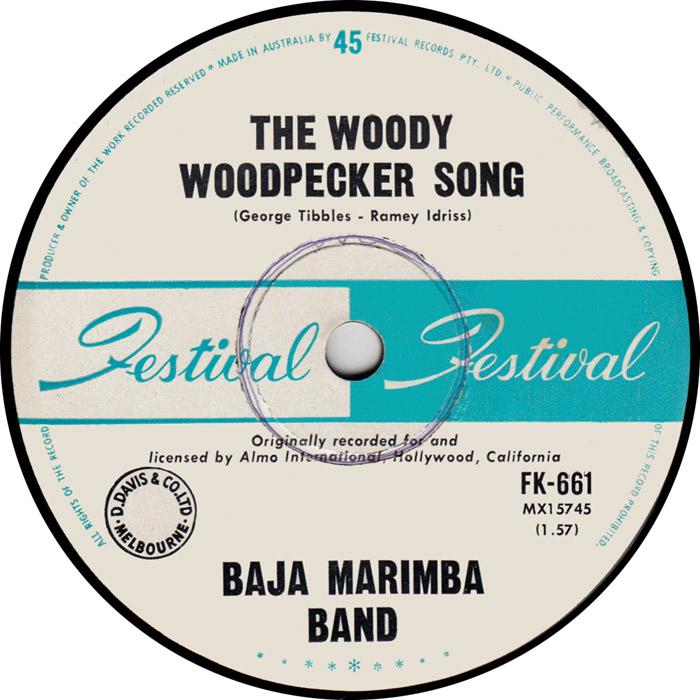 45cat - Baja Marimba Band - The Woody Woodpecker Song / Up ...
