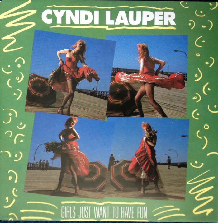 45cat - Cyndi Lauper - Girls Just Want To Have Fun / Right ...