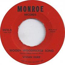 45cat - Vivian Duke - Woody Woodpecker Song / Talking In ...