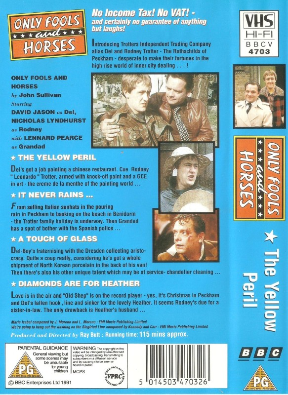 Yellow Peril Only Fools And Horses