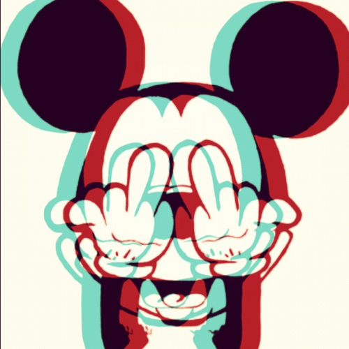 Supreme Mickey Mouse Weed Wallpaper