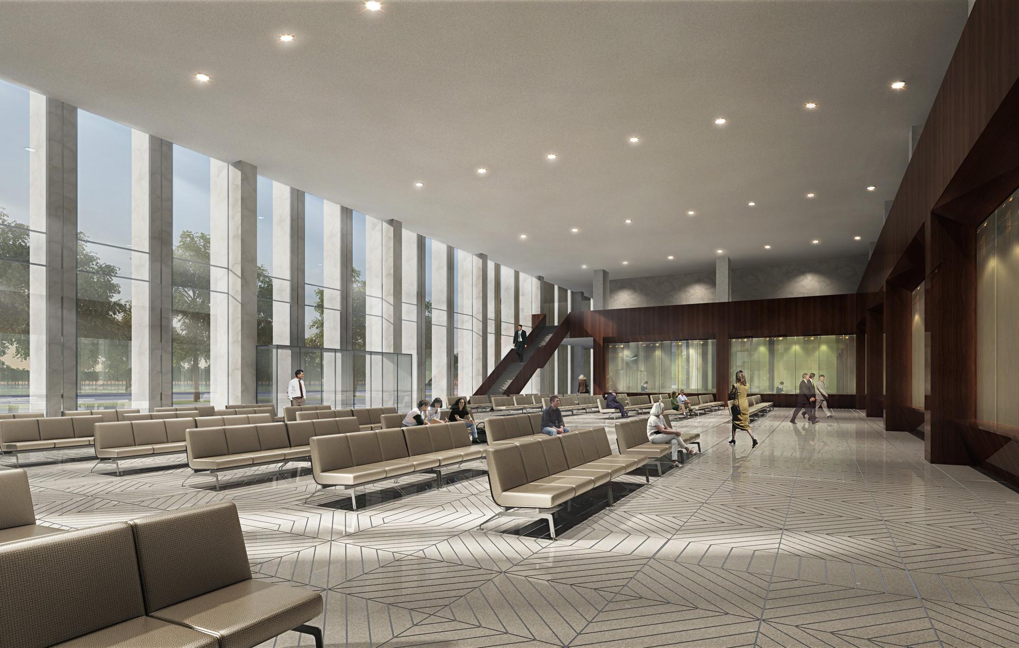 Gallery Of Huishang Bank Headquarters Y Design Office 9